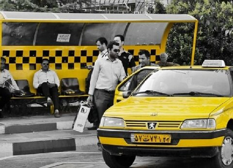 برخورد با سوءاستفاده تاکسیها از مشکل بنزین در کشور