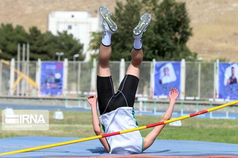 مسابقات دو و میدانی در ورزشگاه آزادی