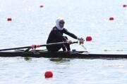 المپیک توکیو | صعود دختر قایقران ایران به یک چهارم نهایی