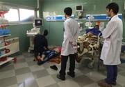 ماجرای بیماران کرونایی که روی پتو در راهروهای بیمارستان بستری هستند