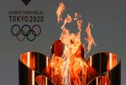 ویدئو | رژه کاروان ورزش ایران در المپیک ۲۰۲۰ از زاویه جایگاه خبرنگاران