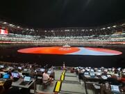 تصاویر اختصاصی همشهری از توکیو | آغاز مراسم افتتاحیه المپیک؛ یک ورزشگاه خالی پر از تماشاگر !