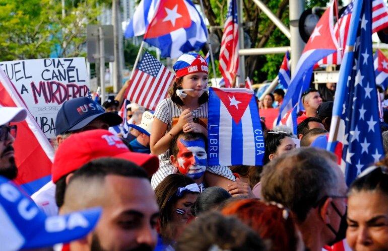 اعتراضات كوبا