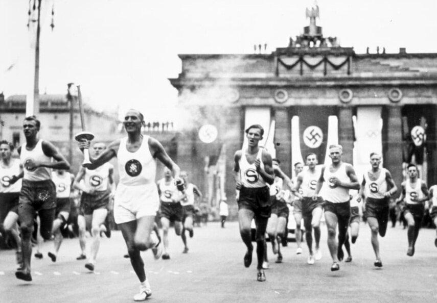 تصاویری تاریخی از مشعلهای المپیک   ابتکار آلمان نازی به شکوفههای «ساکورا» پیوند خورد