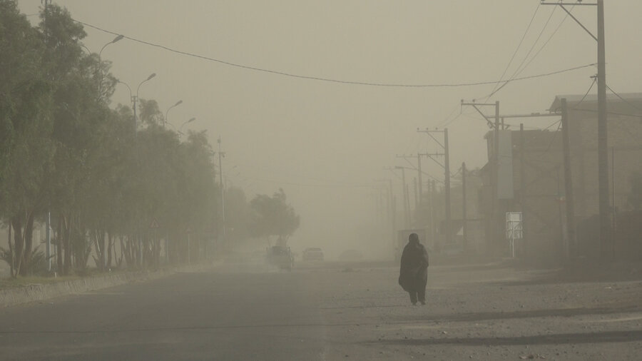 طوفان شن - گرد و غبار