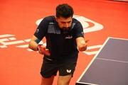 تنها پینگپنگباز ایرانی در المپیک ۲۰۲۰ حذف شد