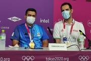 فروغی پس از قهرمانی در المپیک: عکس پروفایلم مدال طلا بود | خدا کمک کرد در فینال آرام باشم