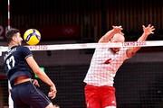 عکس | جدول رده بندی گروه A والیبال پس از برد شیرین ایران مقابل لهستان