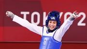 تصاویر | بلایی که دختر ۱۷ ساله اسپانیایی سر قهرمان چینی با دو طلای المپیک آورد