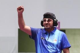 ویدئو | شاهکار جواد فروغی در المپیک | اولین مدال طلای تاریخ تیراندازی ایران
