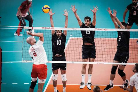 شروع عالی والیبال ایران در المپیک | پیروزی بزرگ شاگردان آلکنو برابر لهستان مدعی