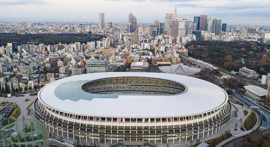 ورزشگاه ملی ژاپن میزبان المپیک 2020