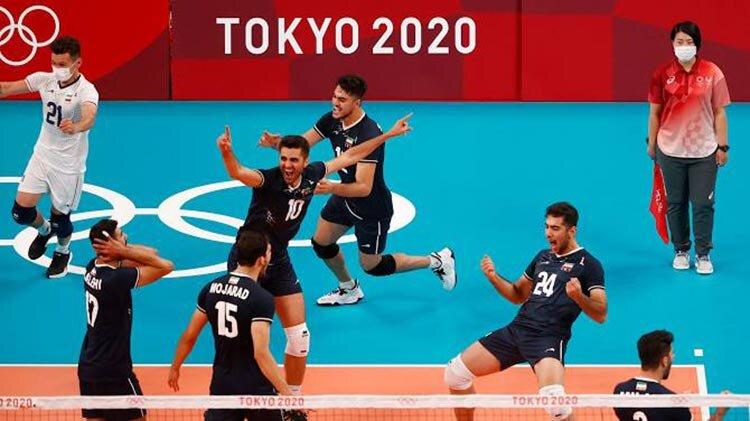 تصاویر | ایران ماراتن والیبال را از لهستان برد | پاسخ محکم عبادیپور به انتقادها