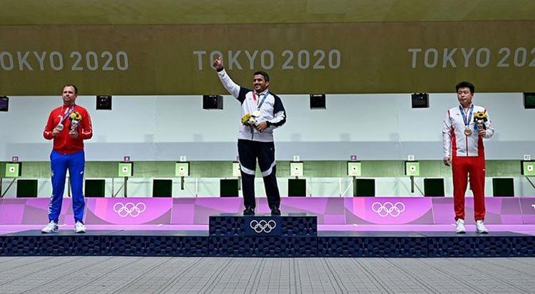 مدال طلاي جواد فروغي در المپيك توكيو