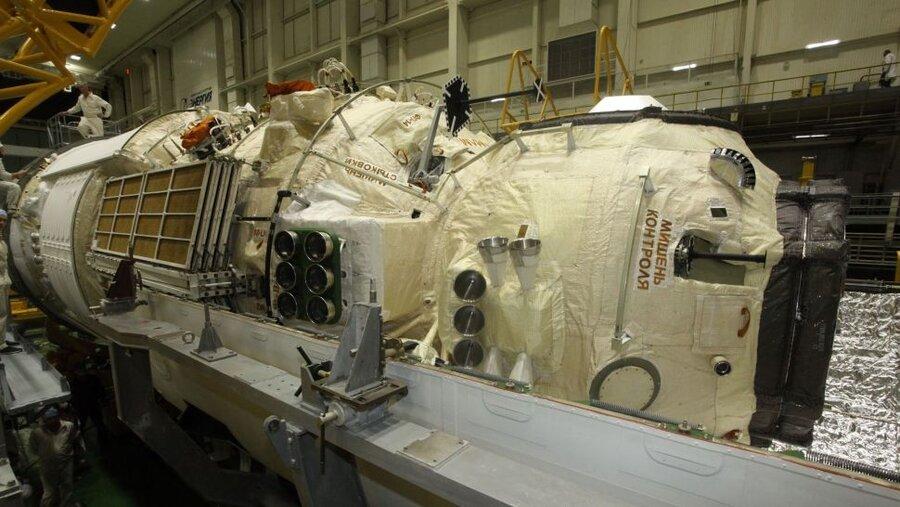 آزمایشگاه علمی «نوکا»ی روسیه در مسیر پیوستن به ایستگاه فضایی بینالمللی است