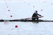درخشش نازنین ملایی با صعود به نیمه نهایی المپیک
