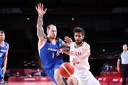 شکست تلخ تیم بسکتبال ایران در المپیک | تیم ملی بسکتبال  کمی دیر بیدار شد