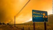 تصاویری از بزرگترین آتشسوزی آمریکا | ۸۸ آتشسوزی فعال این کشور را در برگرفته است