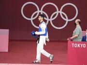 واکنش میرهاشم حسینی به حذف از المپیک | درباره چه چیزی حرف بزنم؟باختم دیگر!
