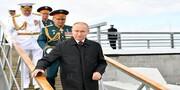 ادعای پوتین درباره قدرت عظیم نیروی دریایی روسیه