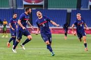 پیروزی دراماتیک فرانسه در فوتبال المپیک ۲۰۲۰