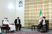 وزیر خارجه قطر به دیدار رئیس جمهور منتخب ایران رفت | رییسی: ایران ثابت کرده دوستی قابل اتکا و شریکی مطمئن است