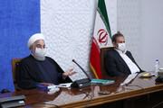 نظر روحانی درباره پشت پرده حوادث خوزستان | نمی توانیم حق اعتراض مردم را به رسمیت نشناسیم