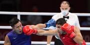 المپیک توکیو | نماینده بوکس ایران در اولین مبارزه شکست خورد