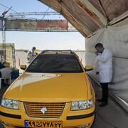 تصاویر | آغاز واکسیناسیون رانندههای تاکسی در بوستان ولایت