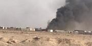 ویدئو | حملات پهپادی به یکی از مراکز الحشد الشعبی در نجف اشرف