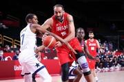 ویدئو | ژاپنی ها ربات بسکتبالیست را بین بازی ایران و آمریکا نمایش دادند | شوتهای سه امتیازی ربات
