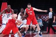 تصاویر | بسکتبال المپیک؛ ایران ۶۶ - آمریکا ۱۲۰