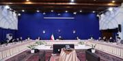 عکس |آخرین دیدار روحانی و دولت دوازدهم با رهبر انقلاب
