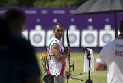 المپیک توکیو | میلاد وزیری در گام نخست تیراندازی با کمان حذف شد