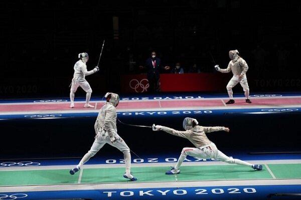 شمشیربازی المپیک