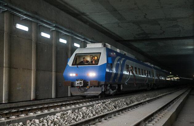 تونل قطار تهران تبریز