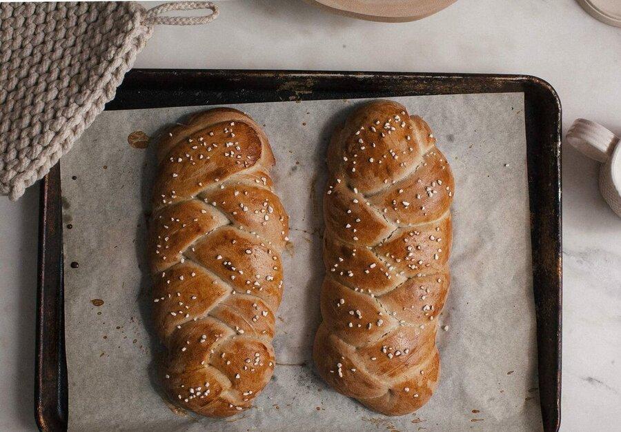 طرز تهیه نان شیرمال | در ۵ مرحله این نان خوشمزه را در خانه بپزید