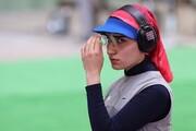 رتبه شانزدهم بانوی ملیپوش ایران در تپانچه ۲۵ متر المپیک توکیو