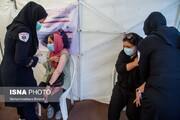 تصاویر | آغاز واکسن زدن خبرنگاران
