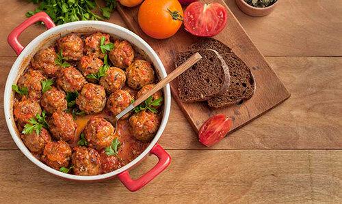 طرز تهیه میتبال بوقلمون | فوتوفن پخت بهترین شام المپیکی