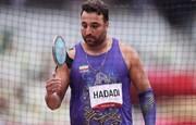 حدادی: به احترام المپیک آمدم | تنها مدالآور دو ومیدانی ایران در المپیک هستم