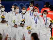 جنجال ماسکهای ورزشکاران آمریکایی در المپیک