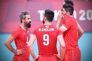والیبال ایران در چه شرایطی به یک چهارم نهایی المپیک صعود می کند؟