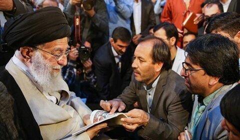 شاعر و ادیب نامدار افغان قربانی کرونا شد | روایت یک دیدار رمضانی با رهبر انقلاب