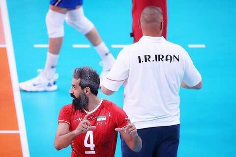دیدار ایران و ایتالیا در المپیک توکیو