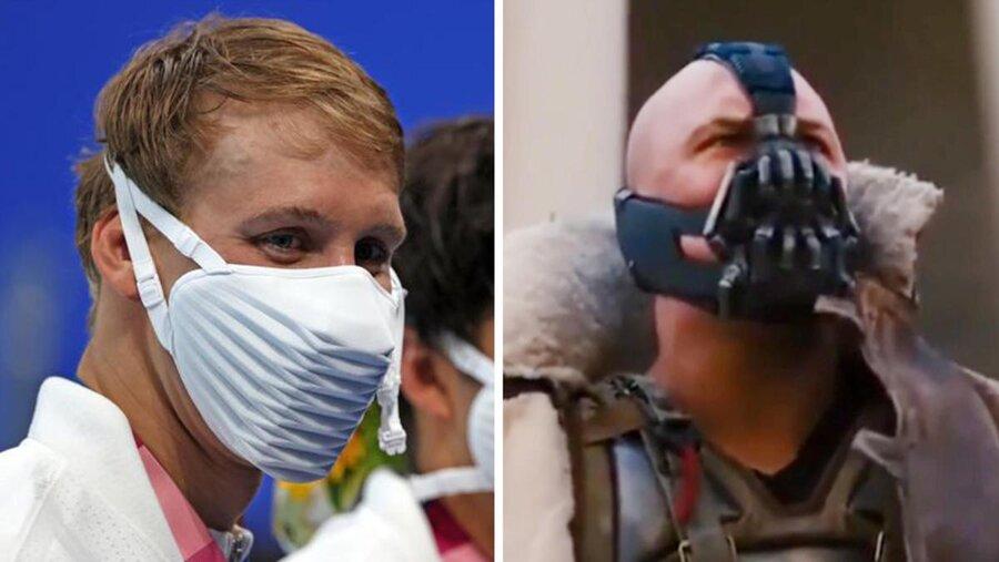 جنجال ماسک های ورزشکاران آمریکایی در المپیک
