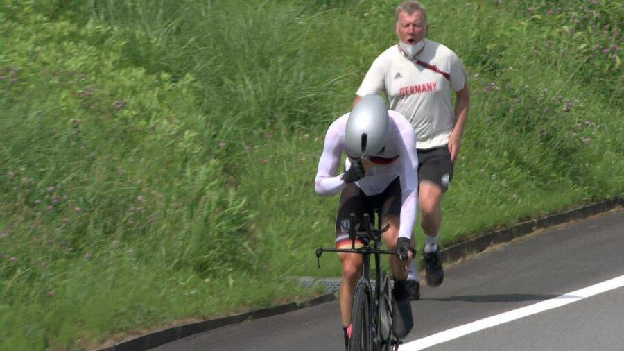دوچرخه سواری مربی المان