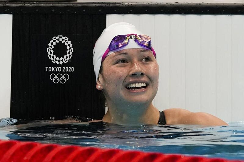 مدال نقره شناگر هنگكنگي در المپيك توكيو