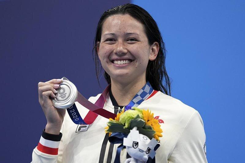 تصاویر | دومین مدال برای شناگر تاریخساز هنگکنگی در المپیک توکیو
