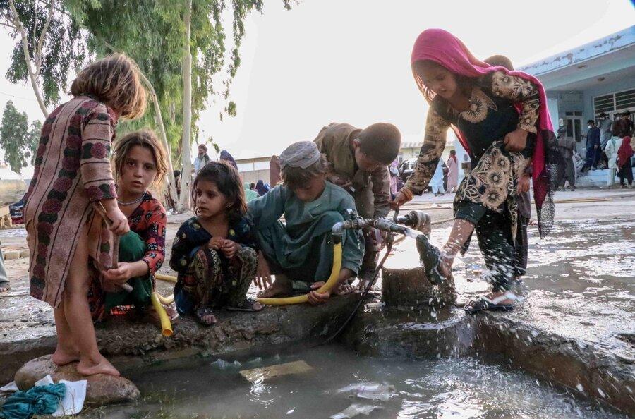وضعيت نابسامان بهداشت در اردوگاه